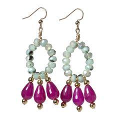 Pink Bazaar Earrings  La Raffinerie FW 2012-2013  #fall #jewelry  http://www.laraffinerie.ca/products/pink-bazaar-earrings