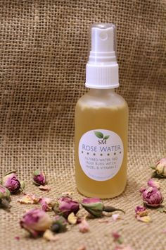 Finally available -- Scratch Mommy's Handcrafted Organic Rose Water Spray!