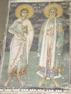 PICT0038 Church Icon, Byzantine Icons, Biblical Art, Saints, Princess Zelda, Christian, Painting, Fictional Characters, Mosaics