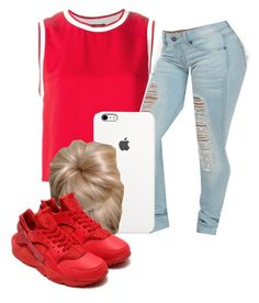 """credit to my bestfriend@neca-xoxo for the whole set up idea"" by lovermonster ❤ liked on Polyvore featuring Theory and NIKE"