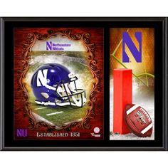 Northwestern Wildcats Fanatics Authentic 12'' x 15'' Team Logo Sublimated Plaque - $39.99