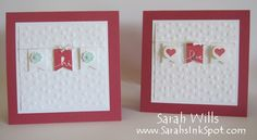Sweet & Simple Banner Blast Notecards by willsygirl - Cards and Paper Crafts at Splitcoaststampers