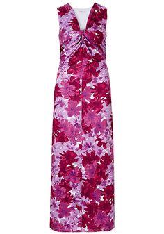 Typ , Kleid, |Materialzusammensetzung , Leicht elastische Jerseyware aus 95% Polyester, 5% Elasthan. Futter: 100% Polyester., |Länge , lang, |Ärmel , Ärmellos, |Gesamtlänge , Längen ca.: N-Gr. 146 cm, K-Gr. 138 cm, L-Gr. 154 cm, | ...