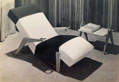 Chaise Longue da empresa Studio Palma. Lina Bo Bardi. 1948.