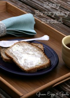 Easy every day bread - no need to knead