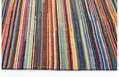 Network Rugs Flat Weave Striped Rug