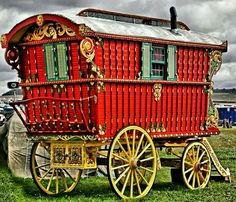 For traveling. A fancy gypsy wagon.