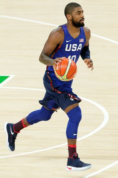 #RIO2016 Best of Day 1 - Kyrie Irving of United States drives the ball up the court against the China on Day 1 of the Rio 2016 Olympic Games at Carioca Arena 1 on August 6...