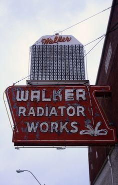 Walker Radiator Works  by Smashedguitar25