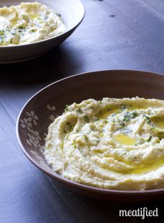 SCD Garlic & Artichoke 'Hummus' (*Use SCD legal artichokes...)