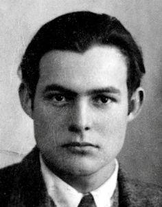 Ernest Hemingway -1923. Foto de passaporte.