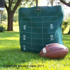 Football field tote!