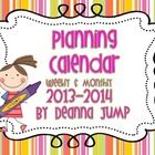 MUST HAVE for Beginning of School Year ~ Teacher's Planning Calendar updated for school year ~ Great organizational tool for recording parent conferences, meetings and other important dates and notes. Includes adorable graphics and thought p. Classroom Organisation, Teacher Organization, Teacher Tools, Teacher Resources, Organized Teacher, Classroom Management, Classroom Ideas, Organizing, Too Cool For School