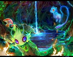 I'm sorry Celebi, but you're defacing this picture.