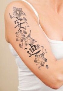 Kanji Tattoo Designs http://tattoodesignsidea.net/kanji-tattoo-designs/