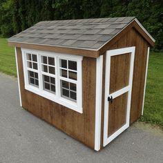 Amish Colonial Gable Run Chicken Coop   Kaninchen, Draußen und Kind