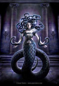 Medusa of Greek Mythology