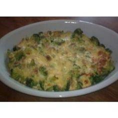 Zapečená brokolica (od našej čitateľky Sylvie) - a Quiche, Risotto, Macaroni And Cheese, Detox, Meat, Breakfast, Ethnic Recipes, Fitness, Dukan Diet