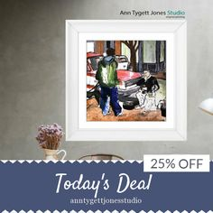 Today Only! 25% OFF this item.  Follow us on Pinterest to be the first to see our exciting Daily Deals. Today's Product: Giclee print of original painting, painting of musician, painting of guitar player, figurative painting, handmade art, modern interior art, Buy now: https://www.etsy.com/listing/473840338?utm_source=Pinterest&utm_medium=Orangetwig_Marketing&utm_campaign=Daily%20Deal   #etsy #etsyseller #etsyshop #etsylove #etsyfinds #etsygifts #handmade #abstractart #handmadewithlove…