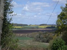 View from Ladwell Hill towards Hursley.