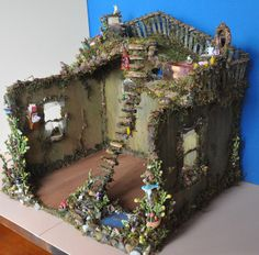 My fairy house dollhouse miniature fairytale house project :)