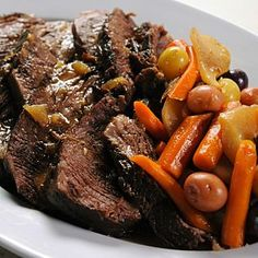 Classic Pot Roast for the Slow Cooker Recipe & Video | Martha Stewart