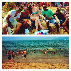 Beach and friends.