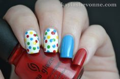 Nails by Kayla Shevonne: Birthday Confetti Nail Art
