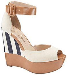 Jessica Simpson Cocoa Platform Wedge Sandals