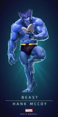 Beast in x-men Rpg Marvel, Marvel Comics Art, Marvel Comic Character, Marvel Heroes, Comic Movies, Comic Book Characters, Comic Book Heroes, Marvel Characters, Comic Books Art