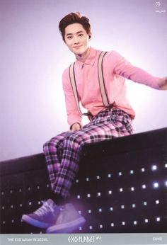 Suho - 160302 Exoplanet #2 - The EXO'luXion in Seoul DVD photobook - [SCAN][HQ] Credit: 삐니.
