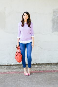 A pair of Gap jeans as featured on the blog Kendi Everyday.