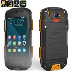 Original Oinom T9H IP68 Rugged Waterproof Phone 4G LTE Smartphone Android 5.1 Shockproof Mobile phone 5200mAH Quad core 1GB RAM