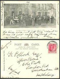 South Africa Explosion in Adderley Street Cape Town, June 13th 1905 Old Postcard   eBay Postcards For Sale, Vintage Postcards, Nordic Walking, Back Pictures, Cape Town, South Africa, Vintage World Maps, History, Street