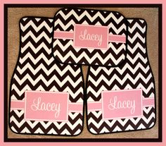 Monogrammed Gifts Car Accessories Monogrammed Car by ChicMonogram, $75.00
