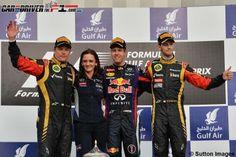 Vettel se escapa en el Mundial con una victoria en Bahréin; Alonso se pierde en el desierto