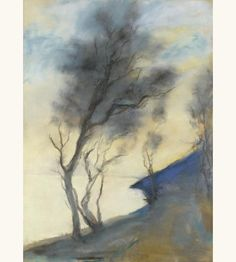 'Am See' (At Sea) - Lesser Ury (1861–1931)