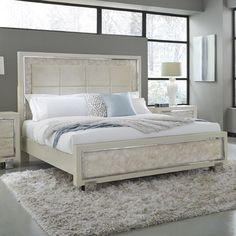 Cute Bedroom Ideas, Room Ideas Bedroom, Home Decor Bedroom, Minimalist Bedroom, Modern Bedroom, Cool Room Decor, Living Room White, Upholstered Platform Bed, Dream Home Design