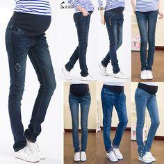 Maternity Jeans Pants For Pregnant Women Plus Size Clothing Pregnancy Aliexpress
