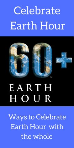 Our Green UP challenge was inspired by.... Get ready to celebrate Earth hour with the whole family and enjoy a family fun night by .....