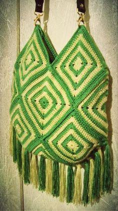 Inspirações de Croche com Any Lucy: Bolsa