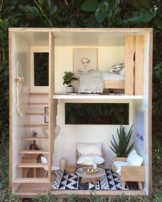 Happy to have had a little play today ☀️ (Modular dolls house or individual room boxes will be available in March @mini_modern_designs) #minimoderndesigns #modulardollhouse #roombox #miniatures #moderndollhouse #dollhousetherapy #modernminiatures #interiors #interiorstyling #simplestyle #ilovewhatido #auatralianmade #goldcoast#goldcoastaustralia #designedbyme #playtime #mumsandbubs#smallscalestyle#handmade#handcrafted#home#natural#style#decor#modernstaircase#kidsinteriors#homebeautiful