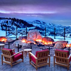 St. Regis - Deer Valley, UT - - visited over Thanksgiving...not to stay though.  Would love to actually stay here!