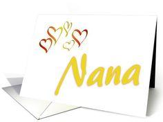 Happy Birthday-Nana card. Thank you customer in Missouri!