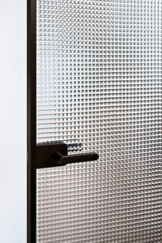 30 Best Bathroom Door Ideas 2019 (For Your Bathroom)Pull-and-push or sliding ones? Keep bathroom doors transparent or paint them with favorite colors?Black door bathroom frosted glass ideas for door bathroom frosted glass Front Door Hardware, Front Door Trims, Bathroom Windows, Bathroom Doors, Bathroom Black, Bathroom Stall, Bathroom Ideas, The Doors, Windows And Doors