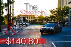 Stretch Limo Airport & In-Town Transfers $140.80 in New Orleans