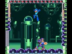 Burst Man from Mega Man 7, defeated by ArekTheAbsolute. Scorch Wheels are best against this pesky adversary. Freeze Crackers also work well.