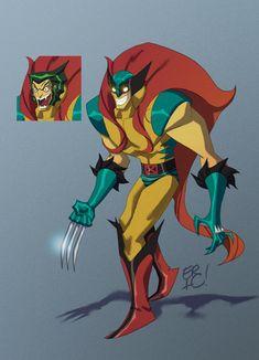 Mashups de super héros Marvel/DC - 2Tout2Rien