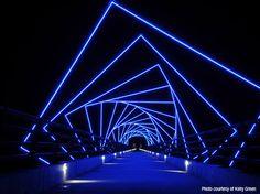 High Trestle Trail Bridge in Madrid, Iowa
