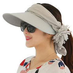 59fab5c05e0 WITERY Floppy Summer UPF50 Foldable Sun Beach Hats Accessories Wide Brim  for Women Review